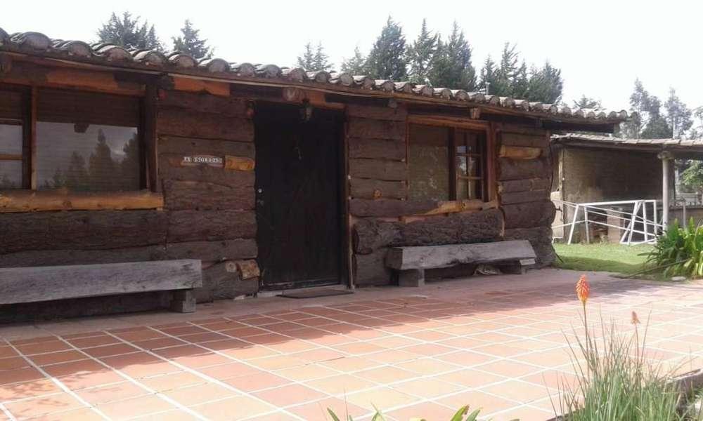 Quinta vacacionales en Venta 10 has.TERRENO, Ideal para Turismo con 4 Cabañas bien equipadas,EN OTÓN