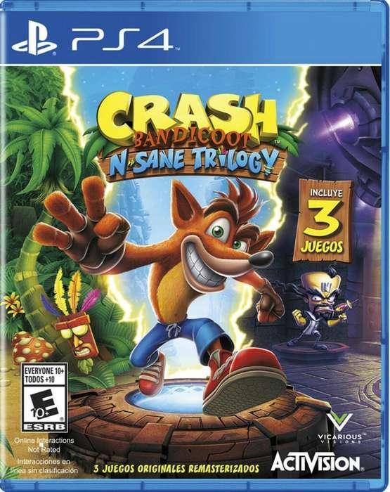 Juegos Ps4 Crash Bandicoot Nuevo