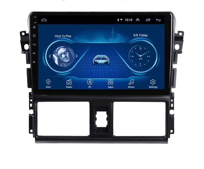 Android Toyota Yaris Autoradio Gps Wifi