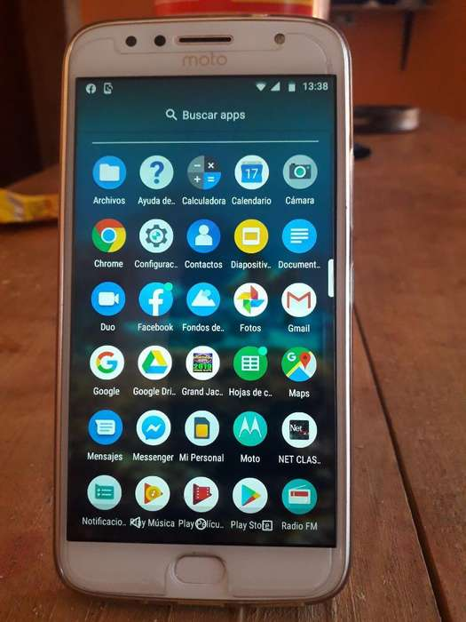 Moto G 5 S Plus Libre con 32gh Y 3 Ram
