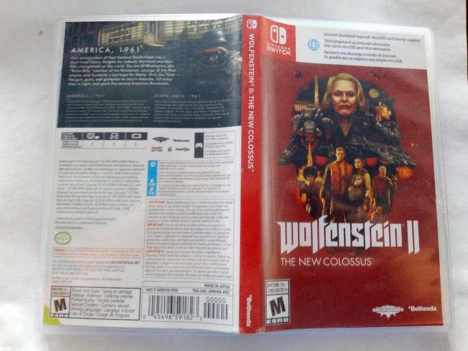 Wolfenstein 2 para Nintendo Switch