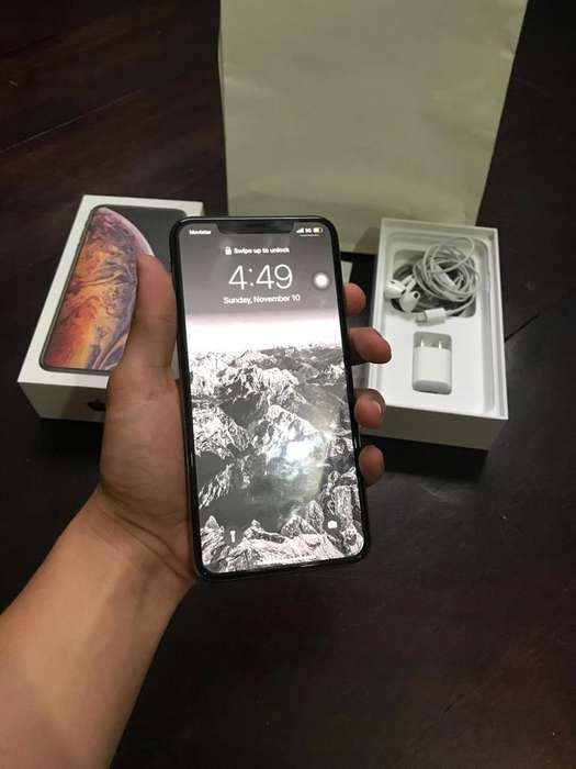 iPhone Xs Max 64Gb Como Nuevo