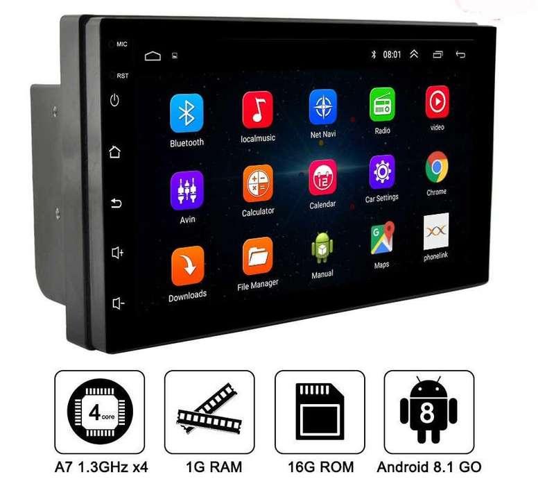 Radio para carro Android 8.1 Pantalla 7 Pulgadas Bt Gps 100% Tactil