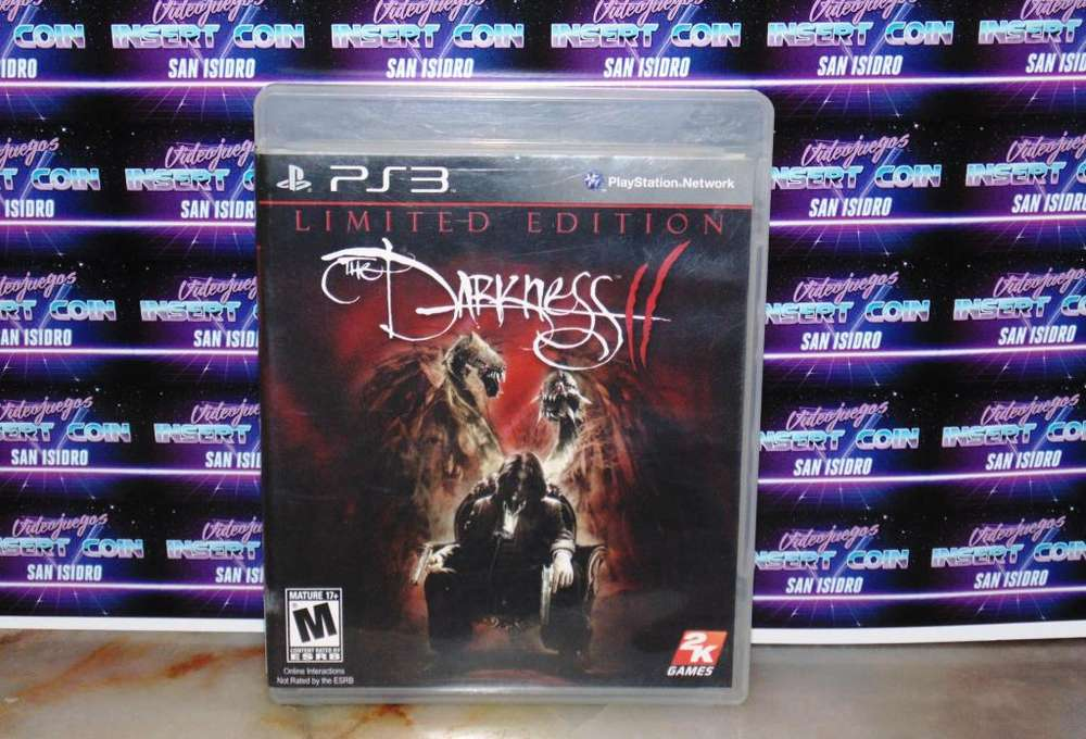 The Darkness 2 PS3 Juego Play Station 3