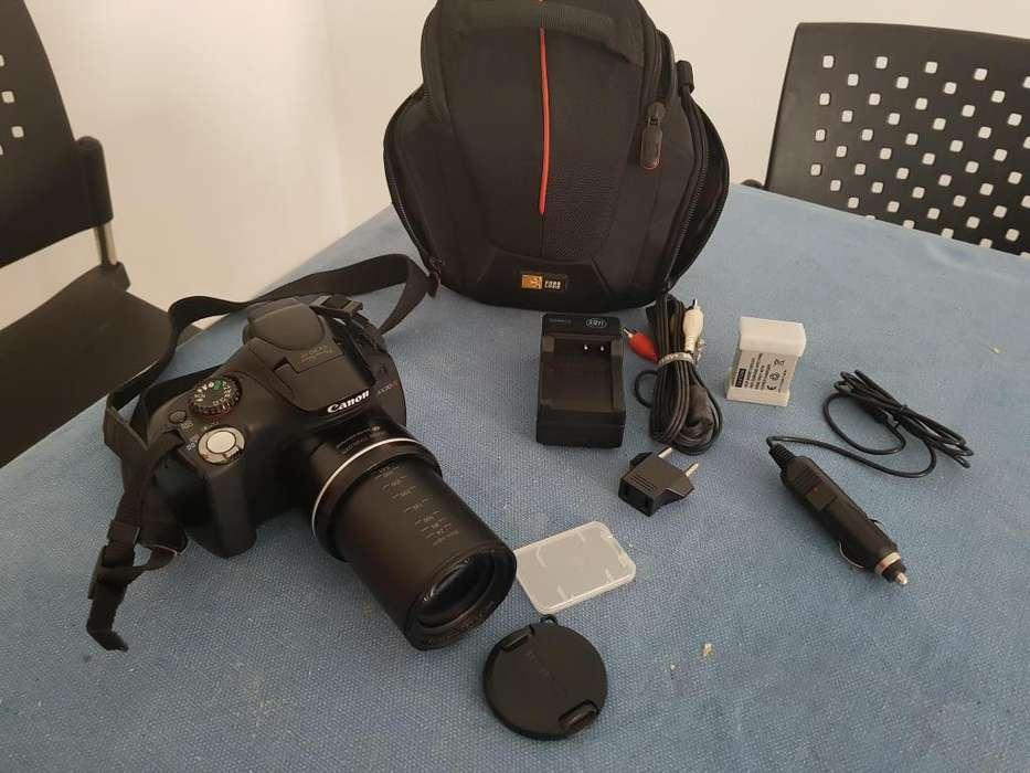 Cámara Canon Sx30 Is con <strong>accesorios</strong>