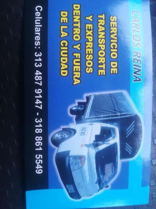 Servicio de Transpy Mudanzas 3188615549