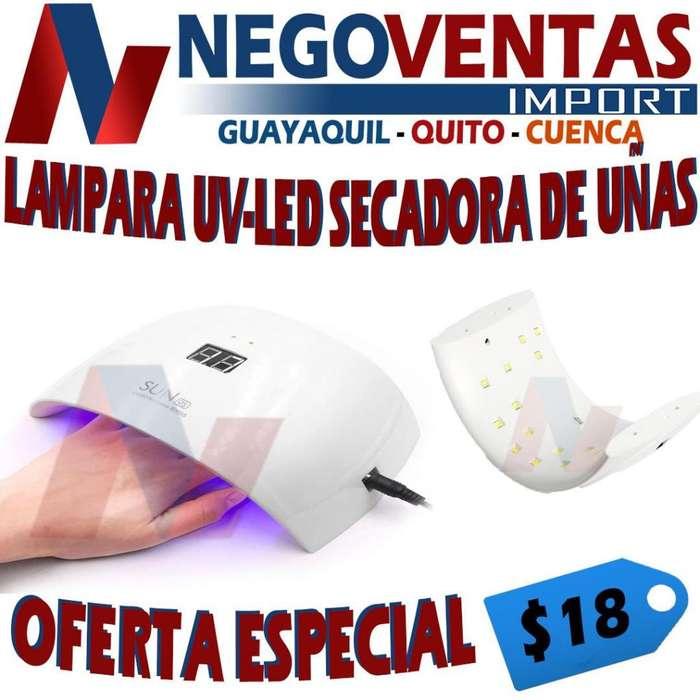 LAMPARA UV LED SECADORA DE UÑAS