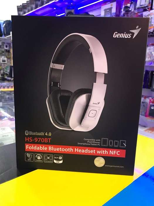 Auricular Bluetooth - Genius Hs-970Bt