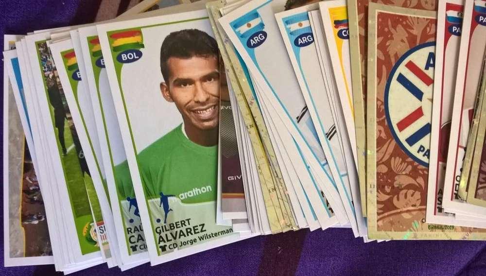 Pack Laminas Copa America Brasil 2019 Números Descripción