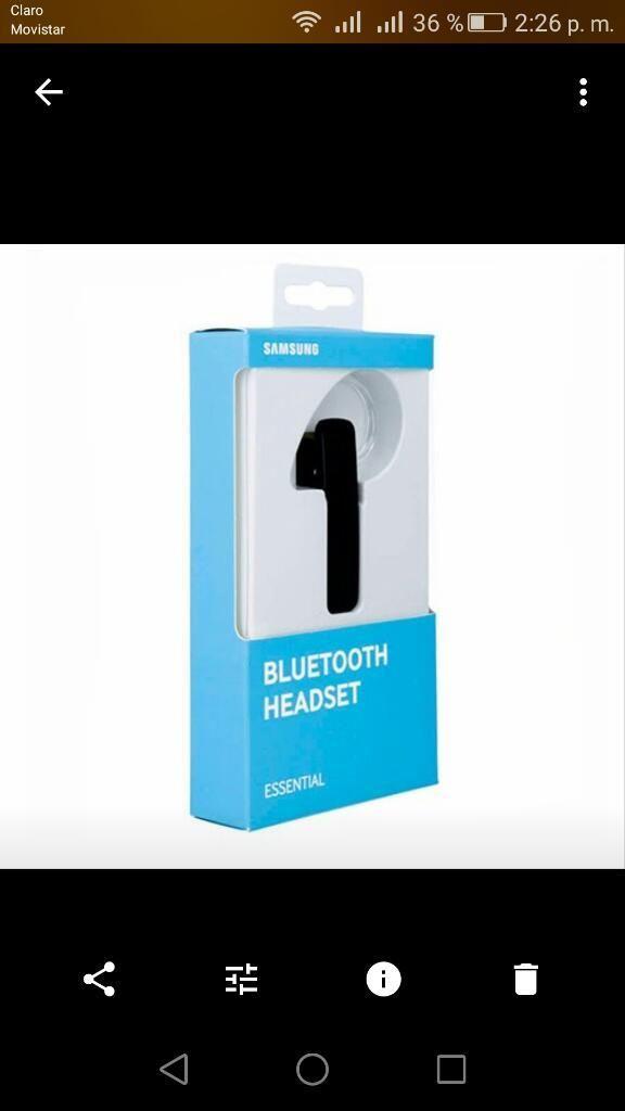 Bluetooth Samsung MG920 Originales.