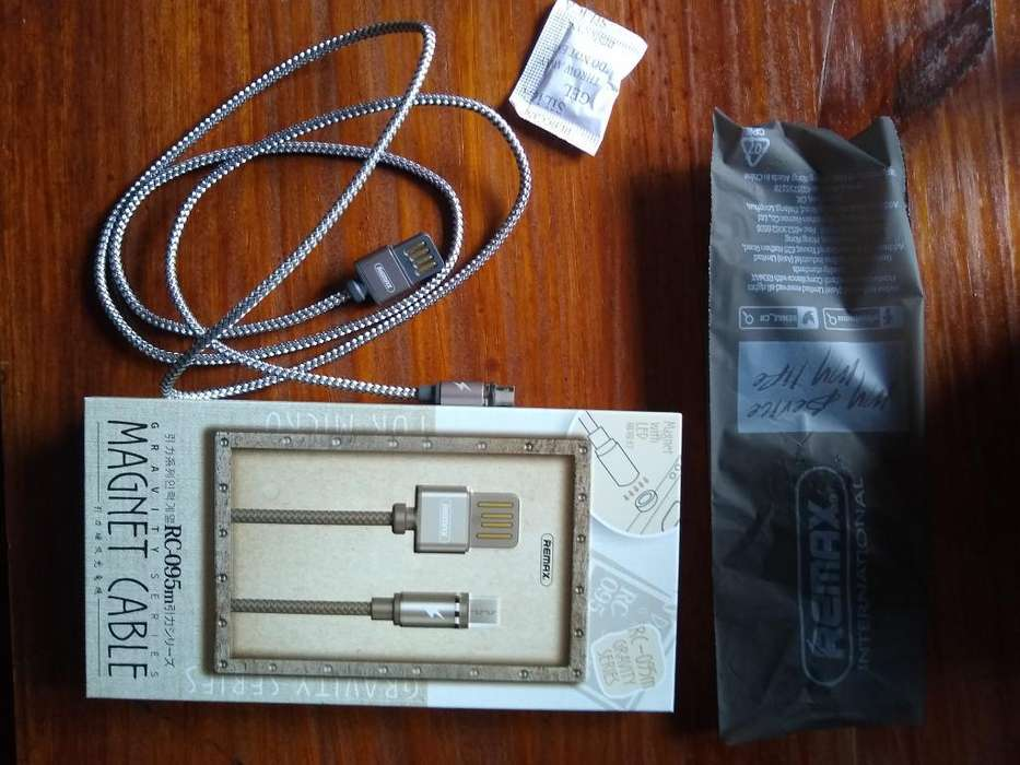 Cable Micro-usb Magnético con Luz