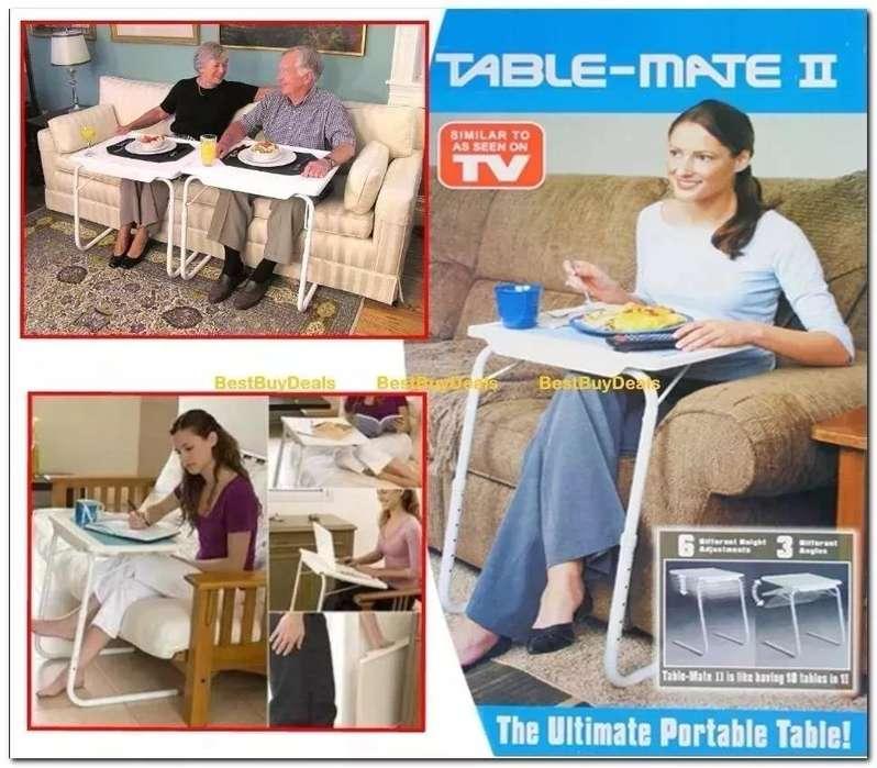Mesa Auxiliar Portatil Table Mate 2 Como En Tv Plegable nueva 3138152836