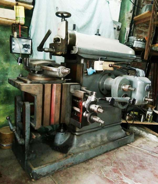Cepilladora Limadora Metales Industrial Metalurgica Funcionanod