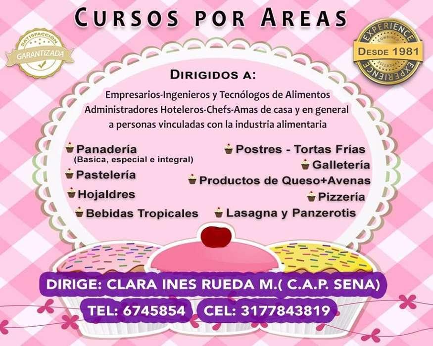 Curso de Pizzería con Clara Inés Rueda