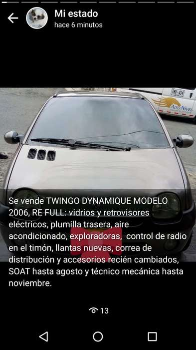 Renault Twingo 2006 - 140000 km