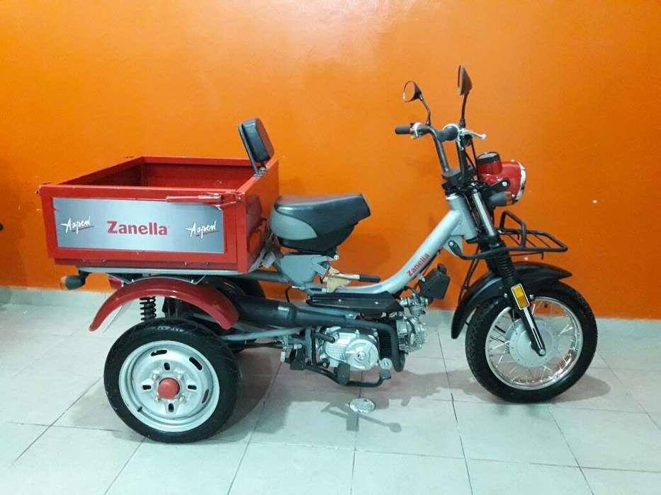 Zanella110cc Tricargo 2019 Rcbo Tarjeta