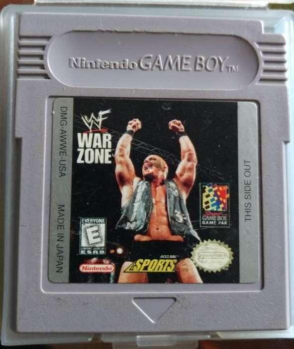 Gangazo video juego para gameboy...excelente juego