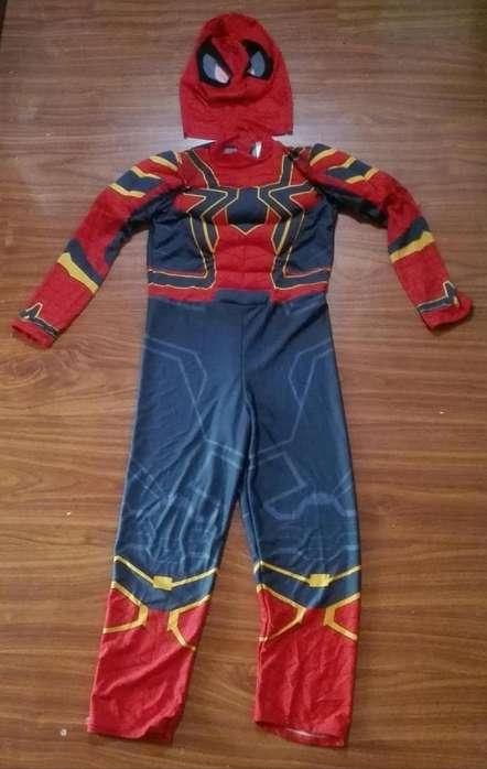 Disfraz Spiderman Talla 10