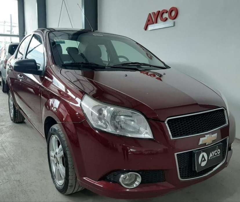 Chevrolet Aveo G3 2013 - 82200 km