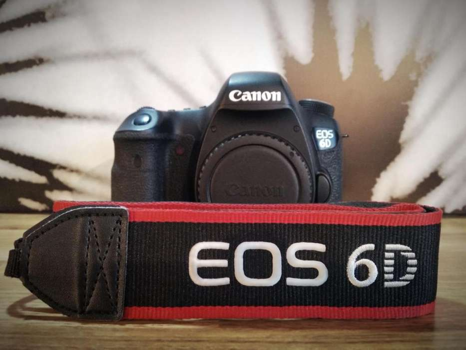 Camara Canon Eos 6d Solo Cuerpo 1080p/30fps Wifi