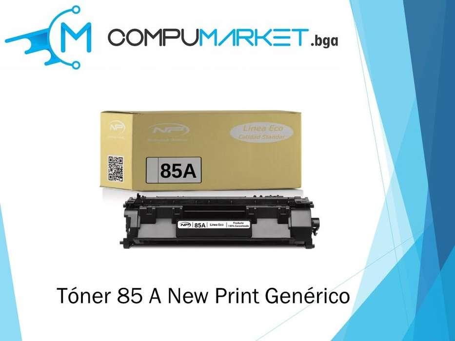 Toner 85 A generico para HP- New Print nuevo y facturado.