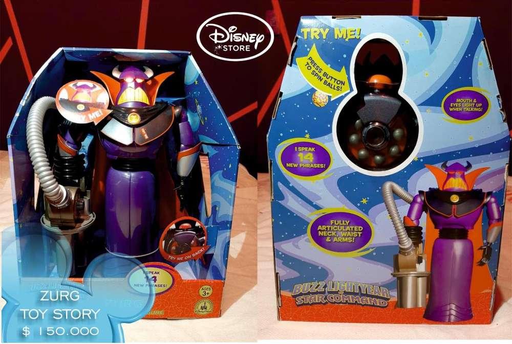 Muñeco Zurg Toy Story Original Disney Con Luces Y Sonidos.