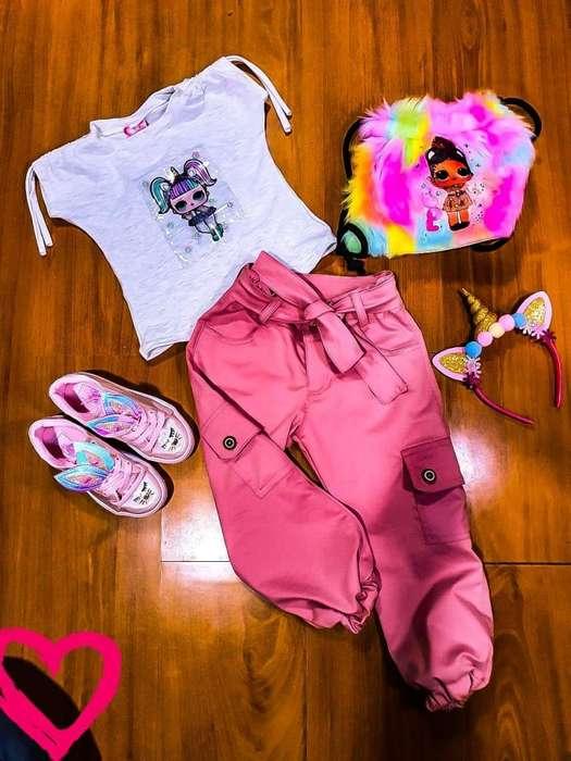 outfits, conjunto pantalon y blusa, varias tallas divinos