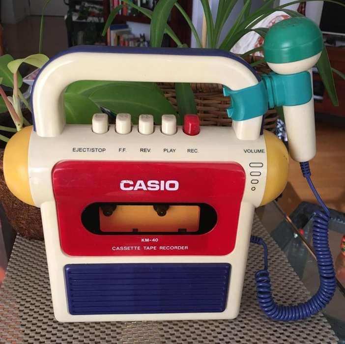 CASIO <strong>karaoke</strong> infantil-Reproductor grabador de Cassettes