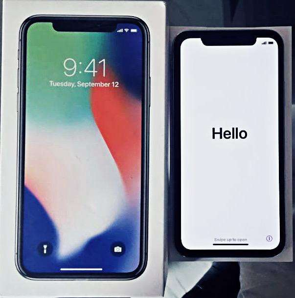 iPhone X 64 Gb.