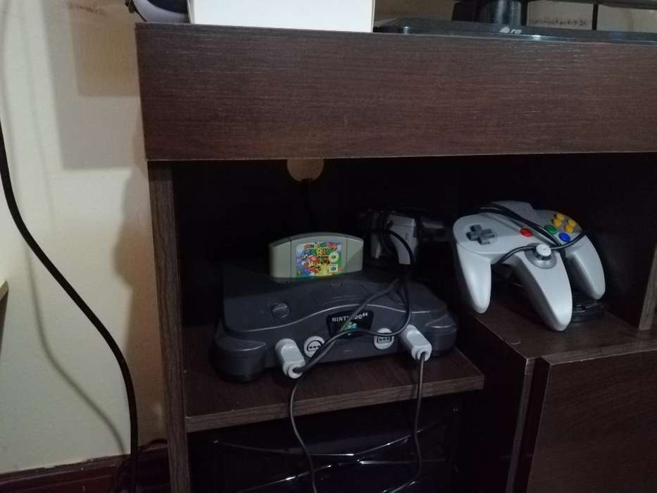 Nintendo 64 Y Juego Mario 64
