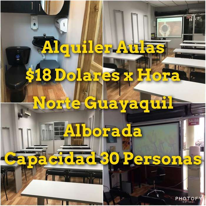 Norte Guayaquil Auditorio Aula Salas de capacitacion alquiler