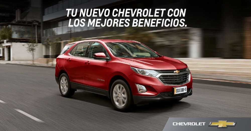 Chevrolet Equinox 2018 - 0 km