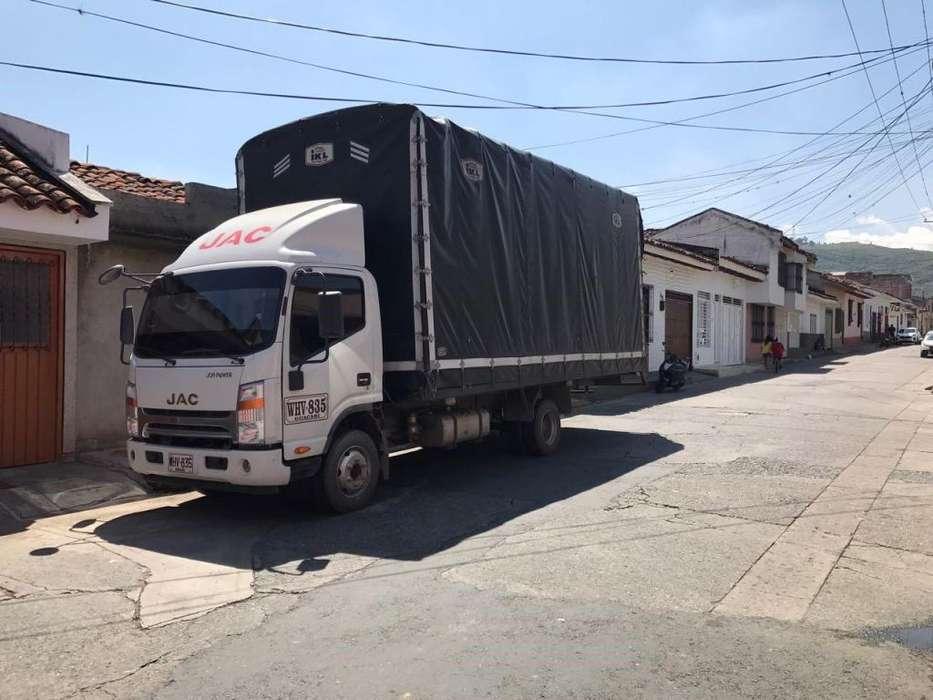 camion jac 2017 MODEL HFC1061KN con convenio 5 viajes semanales