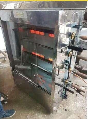 <strong>horno</strong> pollero a gas con motor elctrico