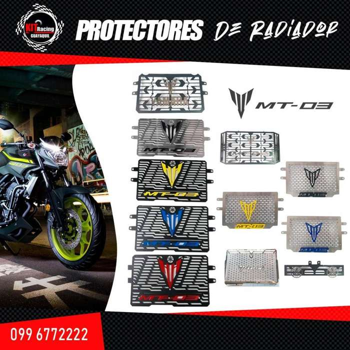PROTECTOR DE RADIADOR MT 03