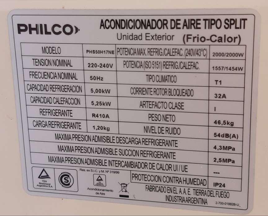 Aire A F/C 4300 Frigorías. Potencia de refrig y calef 5kw