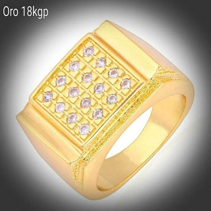 04912c1ea33d Relojes - Joyas - Accesorios - Lima. S .95. 5 Jun. Sortija Hombre Oro 18kgp