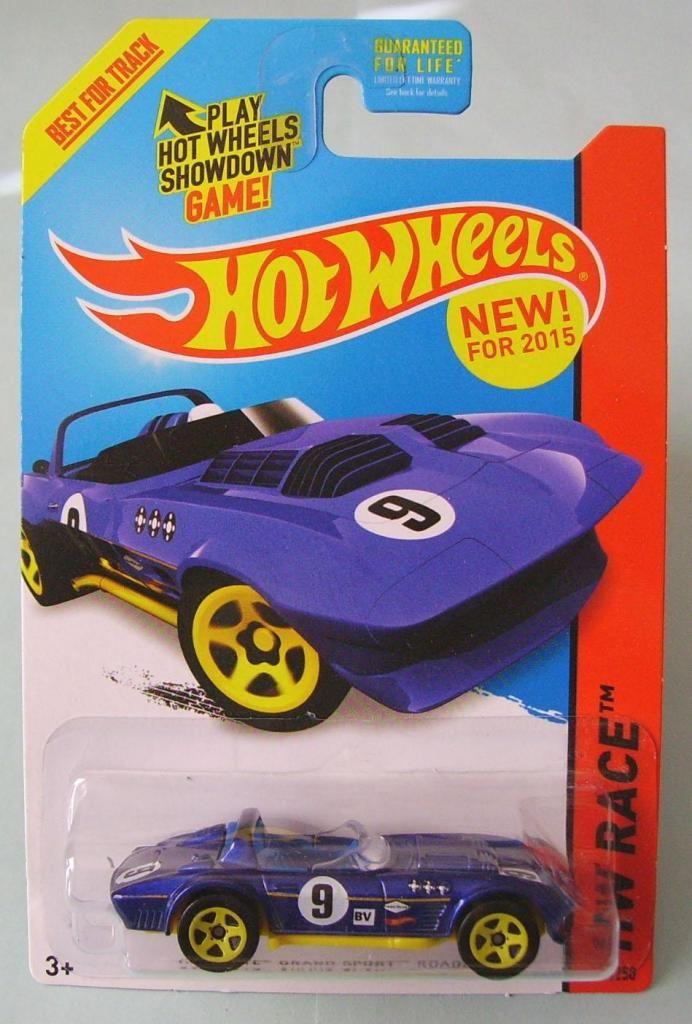 Hot Wheels Grand Sport Roadster 2015