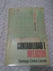 Contabilidad E Inflación . Santiago Lazzati . 3A edicion 1975 Ediciones Prolam