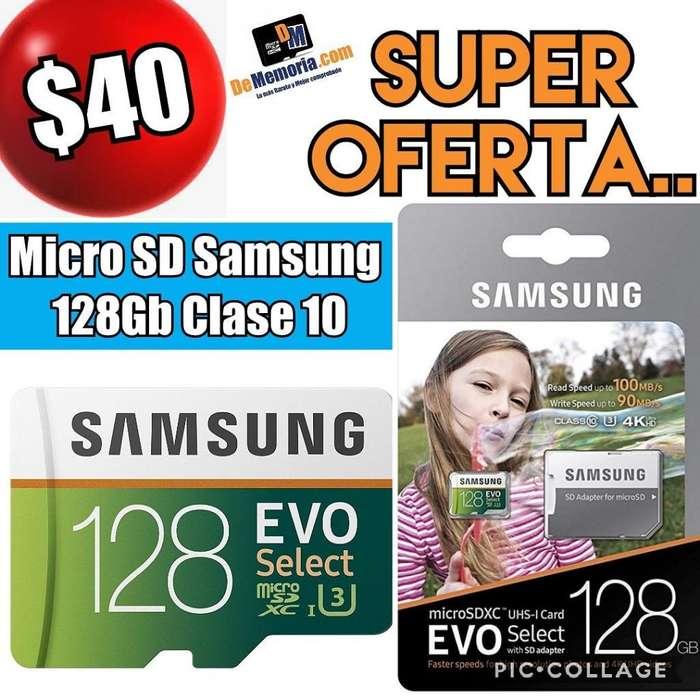 Oferta Memoria Microsd 128gb Samsung C10