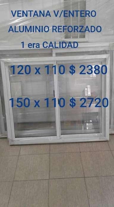 Ventana Aluminio 120 X 110