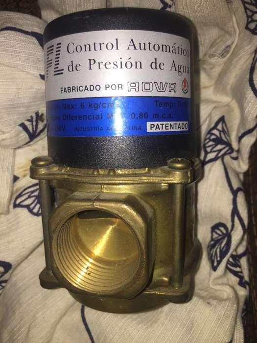 Control Automatico de Presion de Agua