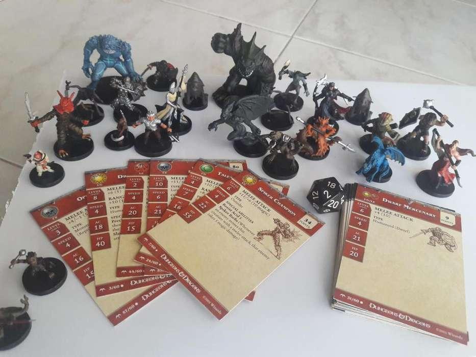 24 Figuras Miniaturas Dungeons Dragons