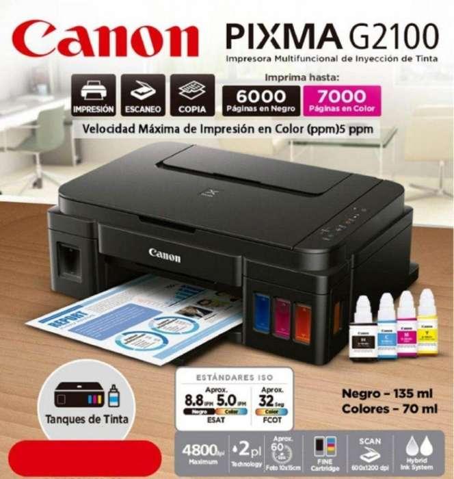 <strong>impresora</strong> CANON G2110 8ppm NEGRO 5ppm COLOR