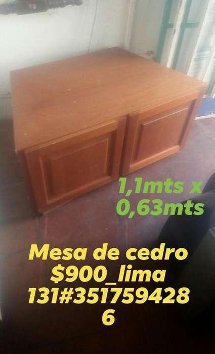 Mesa de Cedro,lima 131 _centro3517594286