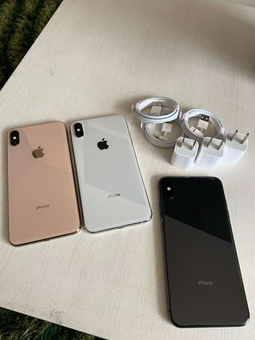 iPhone Xs Max 64 Gb Negro Blanco Dorado