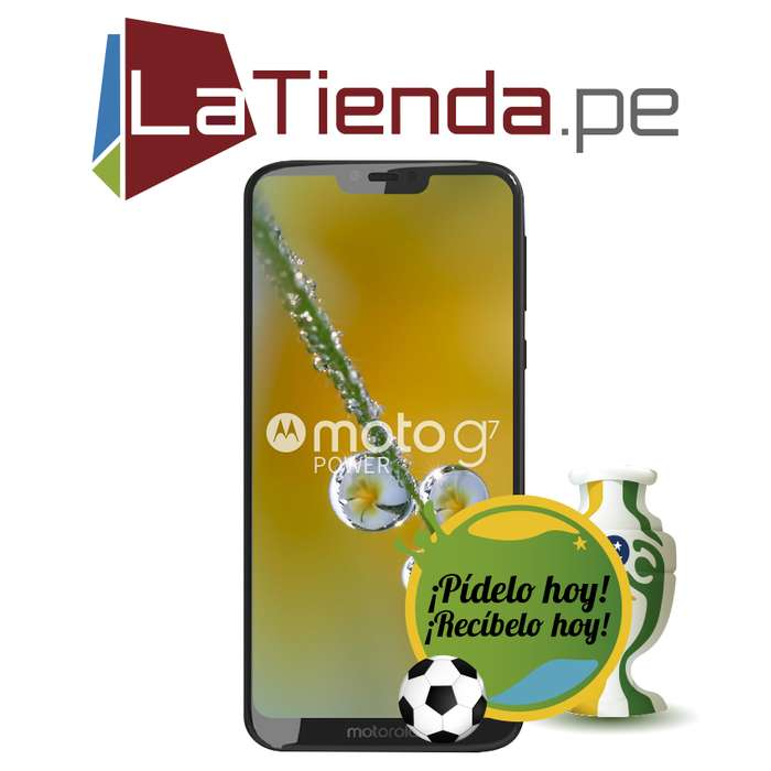 Motorola Moto G7 Power 64 GB de Almacenamiento Interno