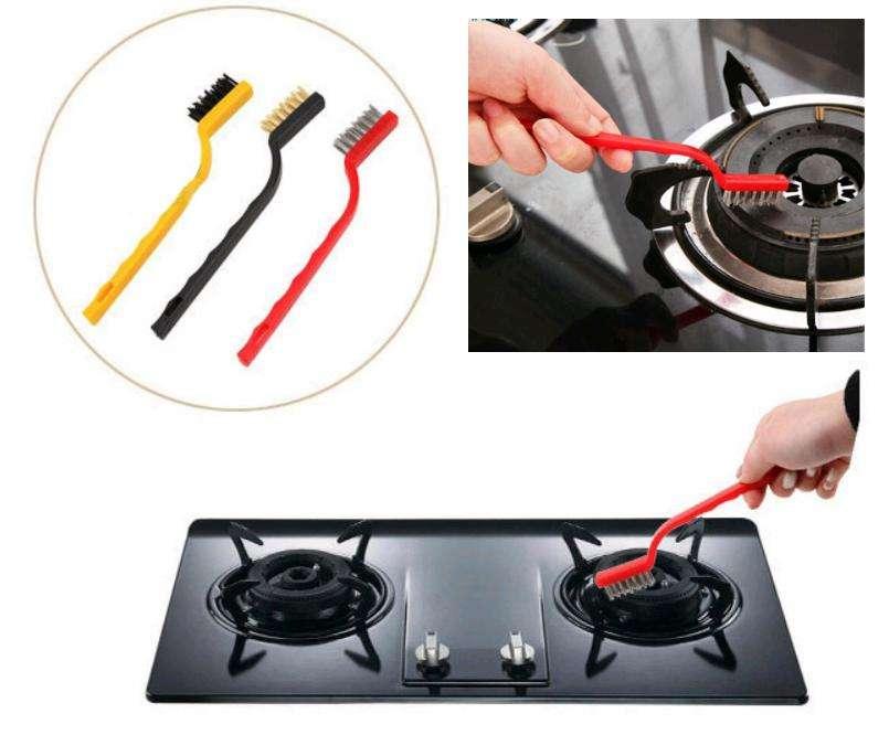 Kit Cepillos Multi-funcional de cepillo de limpieza Hogar, Oficina, Carro, Moto