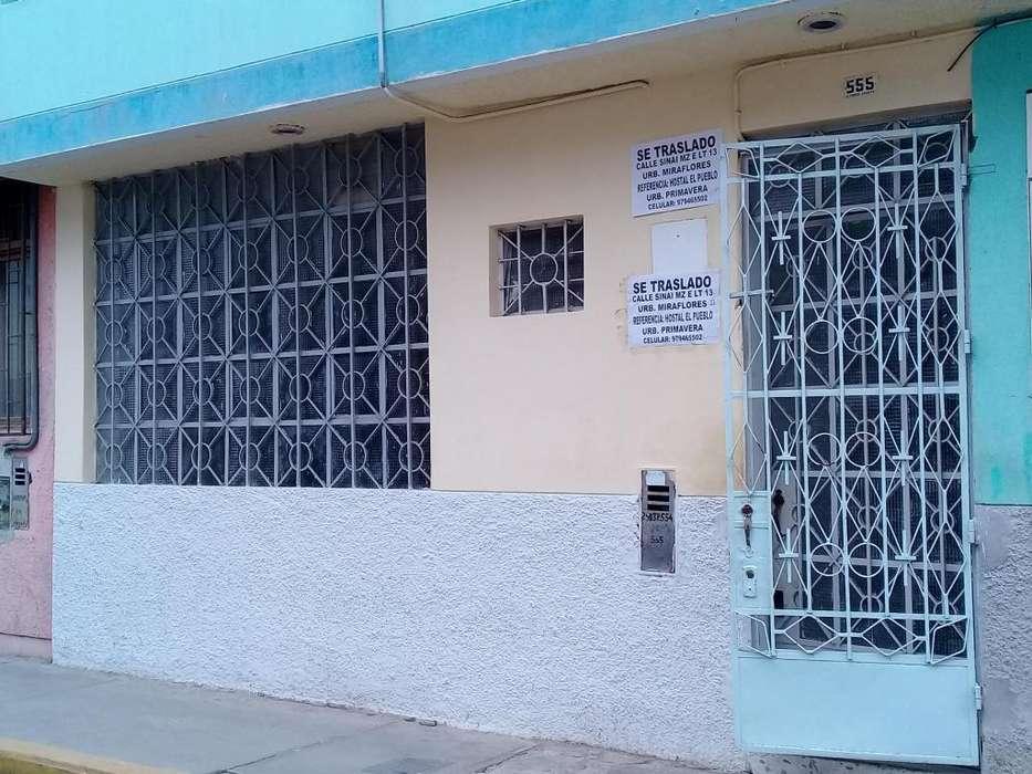 Alquilo ocasión consultorio médico céntrico en Chiclayo