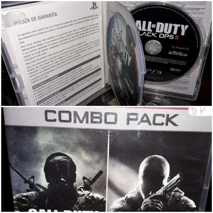 Call Of Duty Black Ops Combo Pack